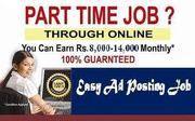 Wanted part time job seekers in and around Coimbatore