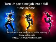 Student good opportunity to work at home