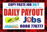 Online Copy paste job No Investment fee   No Registration Fees
